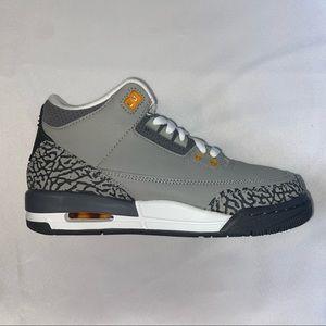 Nike Air Jordan 3 Retro GS Cool Grey 5.5Y 7W